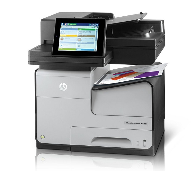 HP Officejet Enterprise ColorMFP X585