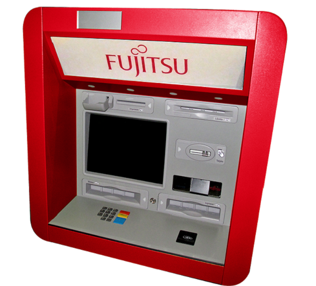 cajero fujitsu
