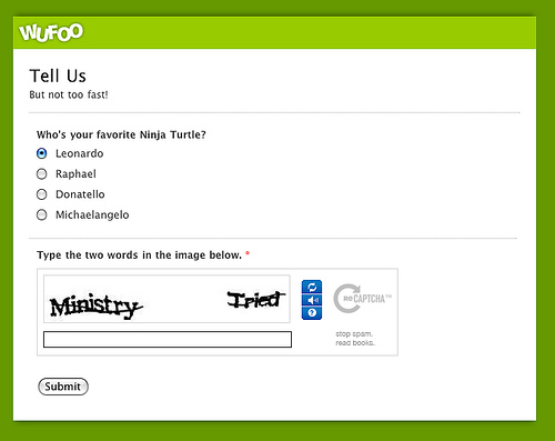Google anuncia que puede resolver CAPTCHAS