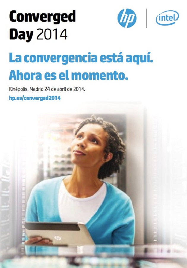 Asiste gratis al evento Converged Day 2014 con HP e Intel