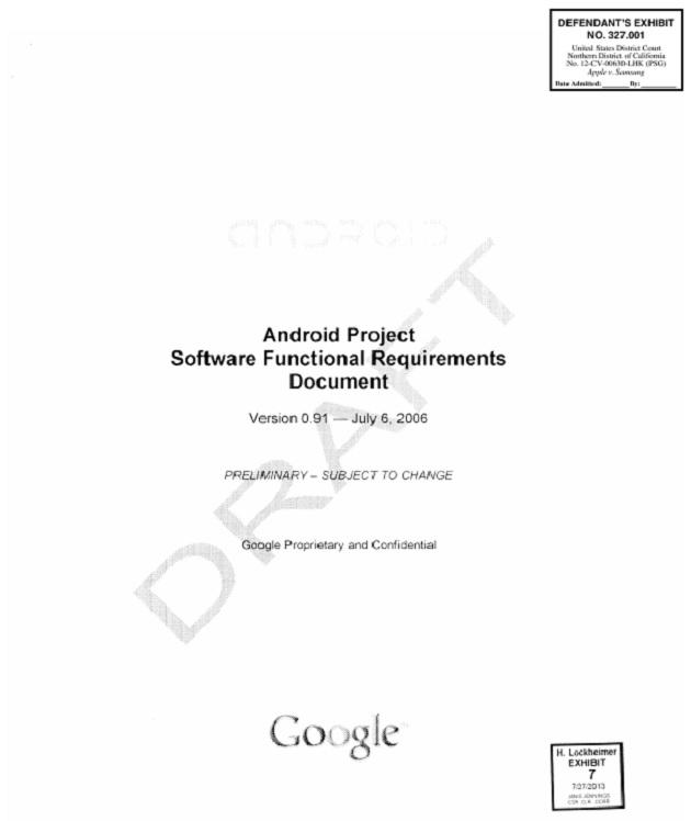 Descarga el primer proyecto de Android elaborado por Google (año 2006)
