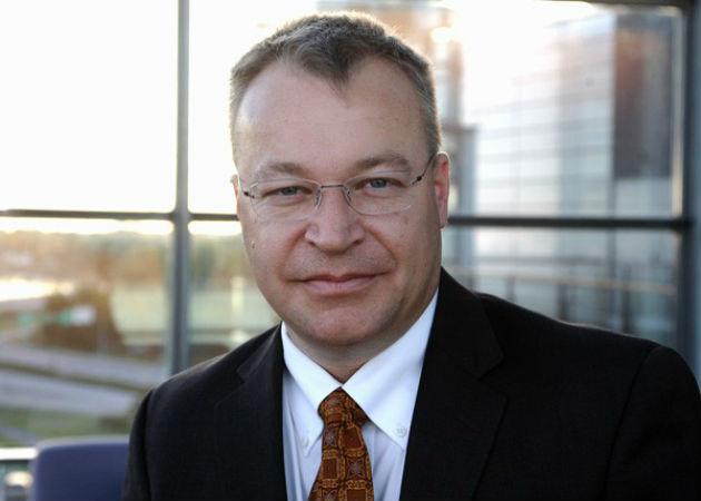 Stephen Elop ocupará el puesto de vicepresidente ejecutivo de Microsoft Devices