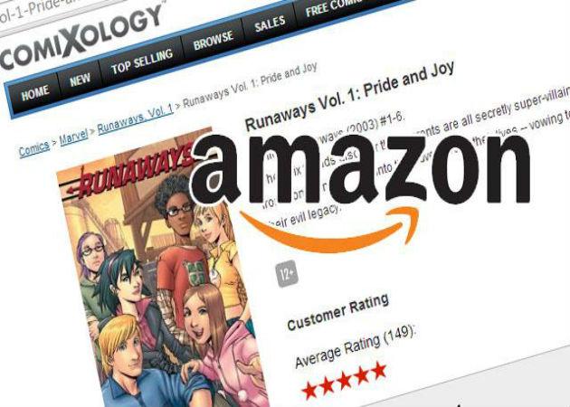 Amazon compra comiXology