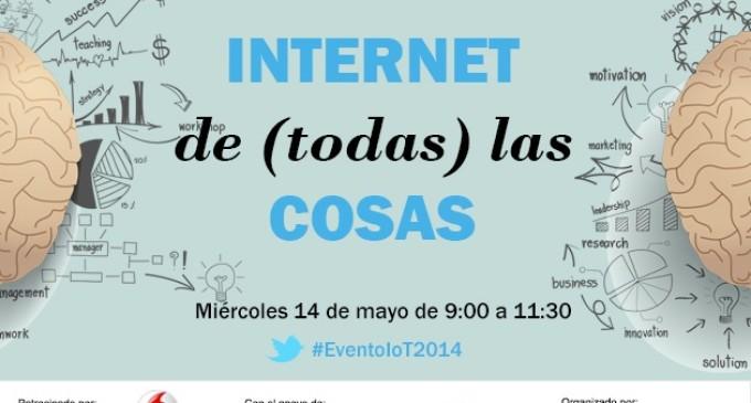 """Nuevo evento TPnet: """"Internet de (todas) las cosas"""""""