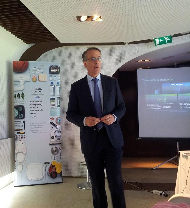 Las oportunidades de negocio del IoE rondan los 14.500 billones de euros, según Cisco