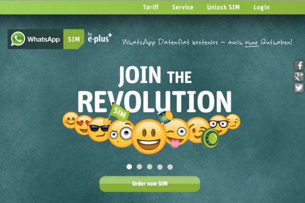 WhatsApp lanza una SIM en Alemania y ofrece su servicio de manera gratuita