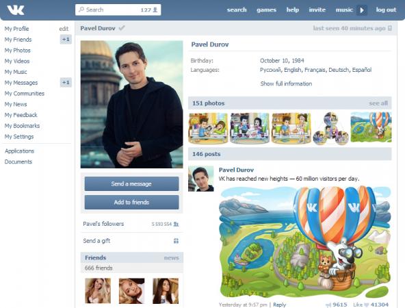Pavel Durov huye de Rusia