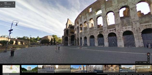 street view roma