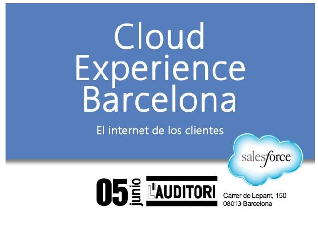 """Salesforce organiza Cloud Experience Barcelona, el evento del """"Internet de los clientes"""""""