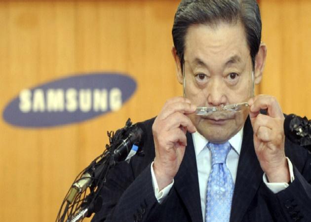 El presidente de Samsung hospitalizado por un infarto agudo de miocardio