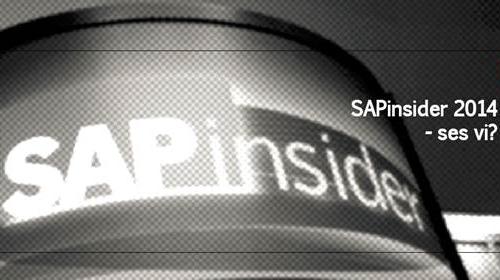 Nos vamos con SAP a su evento SAPinsider