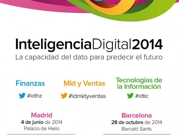 "Asiste gratis con MCPRO al evento ""Inteligencia Digital 2014"""