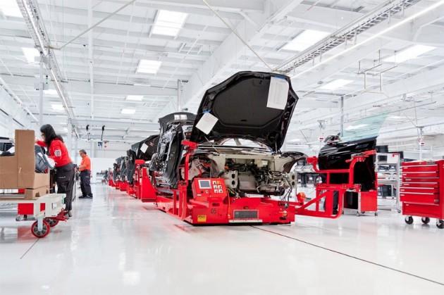 Panasonic quiere ser el único productor de la mega-fábrica de Tesla