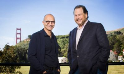 Salesforce y Microsoft