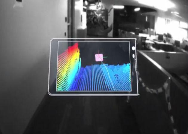 Google también llevará Project Tango a las tablets