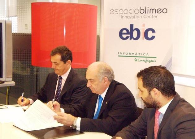 Informática El Corte Inglés firma un acuerdo con la Universidad de Oviedo