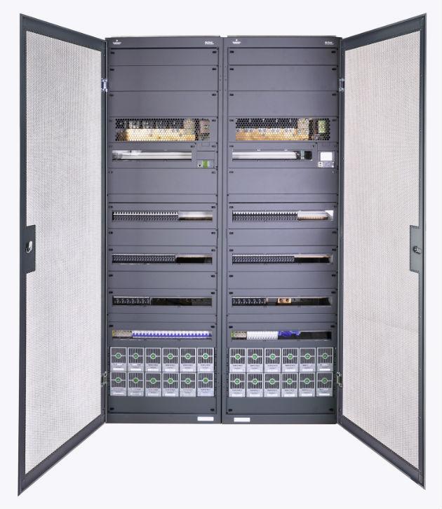 Emerson Network Power presenta nuevos sistemas NetSur de alimentación de CC para centrales de la red Core