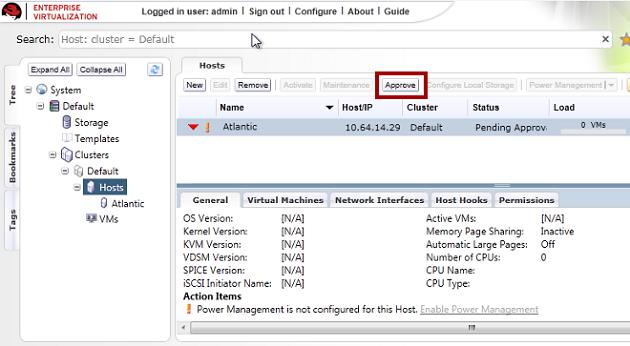 Red Hat Enterprise Virtualization 3.4