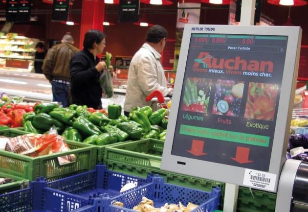 Fujitsu implanta en hipermercados del Grupo Auchan en Francia el primer sistema de pago híbrido