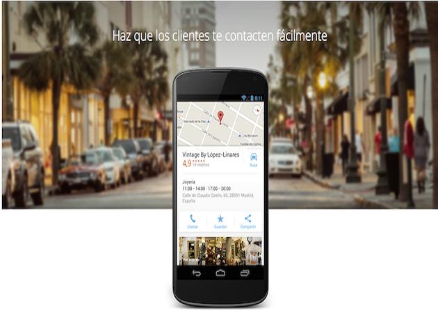 Google lanza una herramienta para los negocios: Google My Business