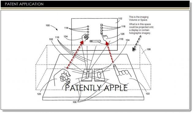Apple consigue una patente para utilizar tecnología 3D en ordenadores de escritorio