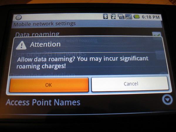 Las operadoras españolas no hacen rebajas en el roaming