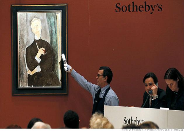 eBay se alía con la casa de subastas Sotheby's