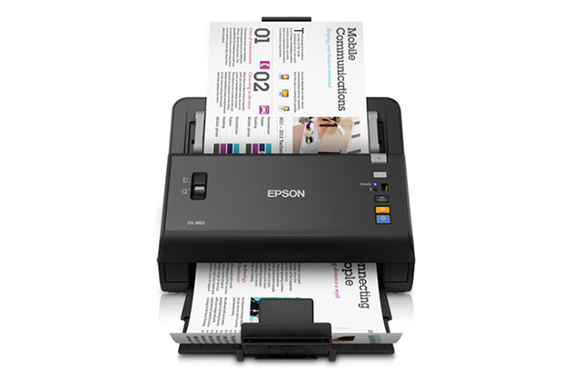 Epson WorkForce DS-860N, análisis
