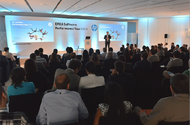 HP celebra en Madrid su Software Performance Tour 2014