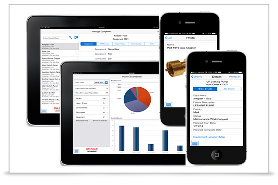 Oracle anuncia 57 aplicaciones de Oracle JD Edwards para tablets y smartphones