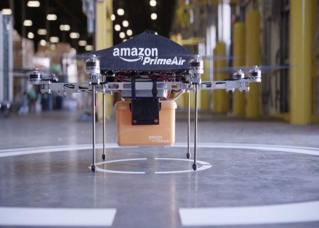 Amazon pide permiso para empezar a probar sus envíos con drones