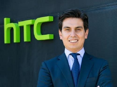 Rubén Pérez Prieto, nuevo director de ventas de HTC para Iberia