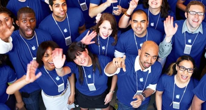 Apple publica los datos sobre la diversidad de sus trabajadores