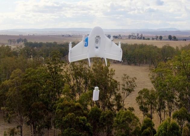 Project Wing, el sistema de reparto de Google a través de drones