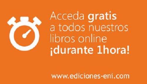 Ediciones ENI ofrece la consulta online de todos sus libros ¡gratis!