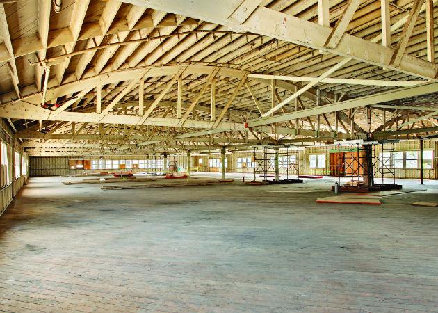 La próxima oficina de Google podría situarse en un histórico hangar abandonado