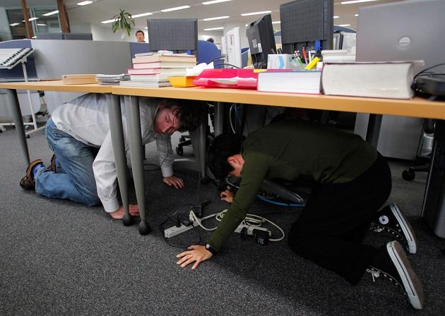 miedo en la oficina