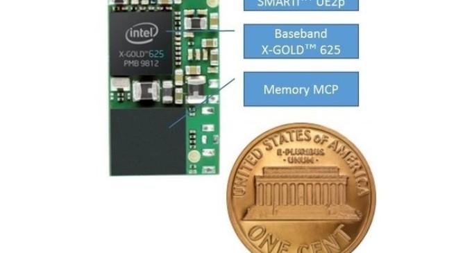 Intel fabrica un módem 3G para el IoT del tamaño de un céntimo