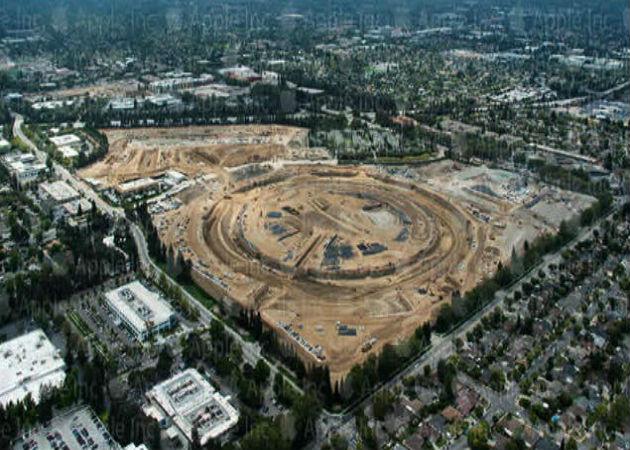Se pone en marcha la construcción de la nueva sede de Apple en Cupertino