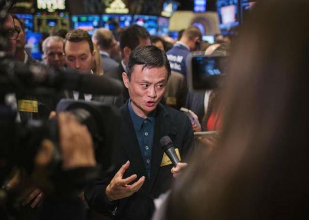 Alibaba alcanza los 180.000 millones en su debut en Wall Street