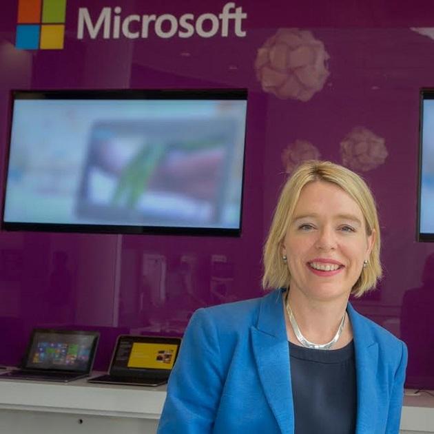 Saoirse Fahey, nueva directora financiera de Microsoft Ibérica