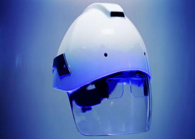 Un casco de seguridad con realidad aumentada, el nuevo reto para las empresas
