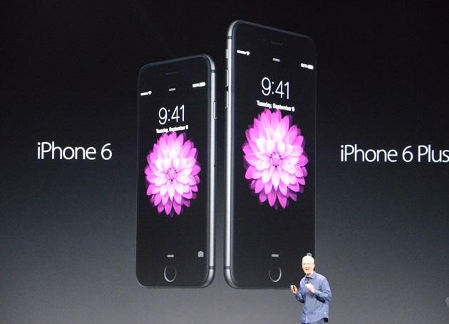 Apple vende 10 millones de iPhone 6 y iPhone 6 Plus en una semana