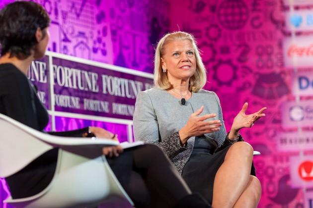 """Ginni Rometty, CEO de IBM """"el crecimiento y la comodidad no coexisten"""""""