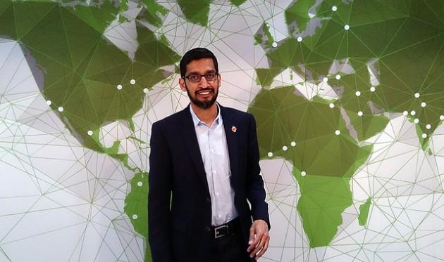 Sundar Pichai supervisará la mayoría de los productos y servicios de Google