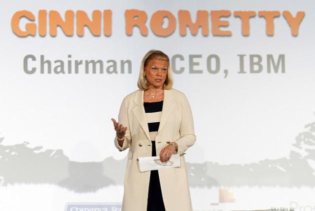 Ginni Rometty está decepcionada con los resultados de IBM