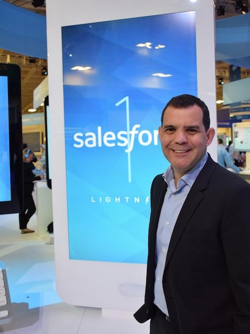 Arsenio Otero Pérez, vicepresidente de estrategia y ventas de Salesforce para EMEA.