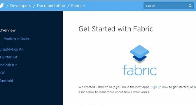 Twitter presenta su nueva plataforma, Fabric