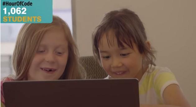 """La """"Hora de código"""", una apuesta por la educación apoyada por las grandes tecnológicas"""