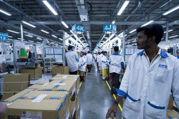 Nokia suspenderá la producción en la planta de Chennai en la India
